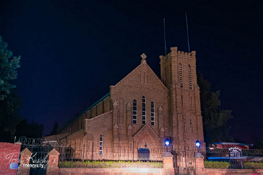 at_night_tkf_st_marys_church